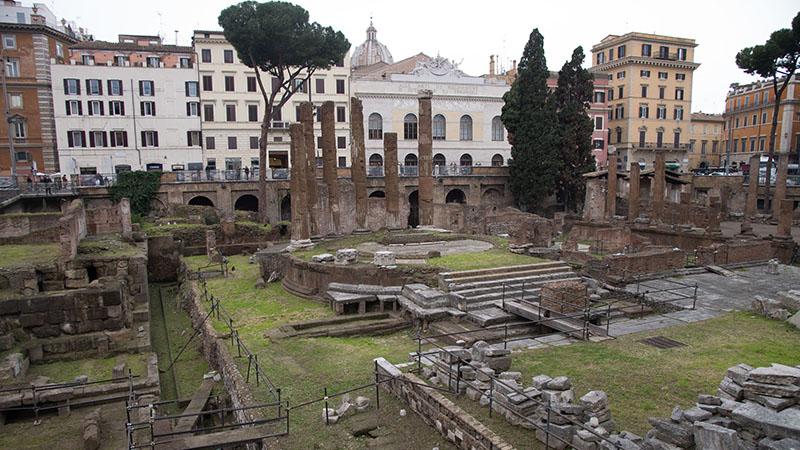 L'area sacra di Largo Argentina a Roma torna visitabile