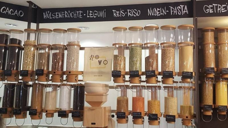 A Bolzano il negozio senza imballaggi