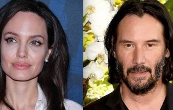 Angelina Jolie in love con Keanu Reeves