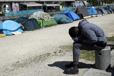 Migranti Sgomberato ex Cotonificio Pordenone - Travesio