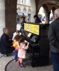 Pianocity Bergamo for Peace 2018, pianoforti in città per tutti