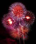 Fuochi d'artificio a Dolceacqua