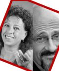 Paola Tiziana Cruciani e Paolo Triestino a teatro in 'L'ebreo'