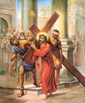 Via Crucis per il centro