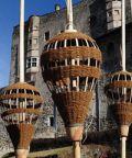 Le sculture di Roger Rigorth a Castel Pergine