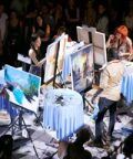 Art Battle, Pittura Competitiva dal Vivo