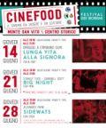 CINE FOOD - Il cinema da vedere e da gustare