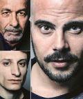 Marco D'amore, Tonino Taiuti, Vincenzo Nemolato in 'American Buffalo'