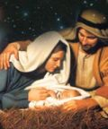 Il presepe Vivente durante la Santa Messa